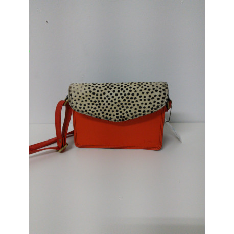 Bolso leatyher bag*15