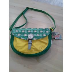 Bolso verde amarillo