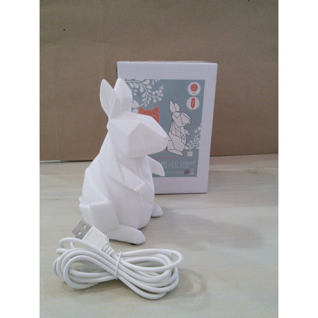 Mini conejo bco
